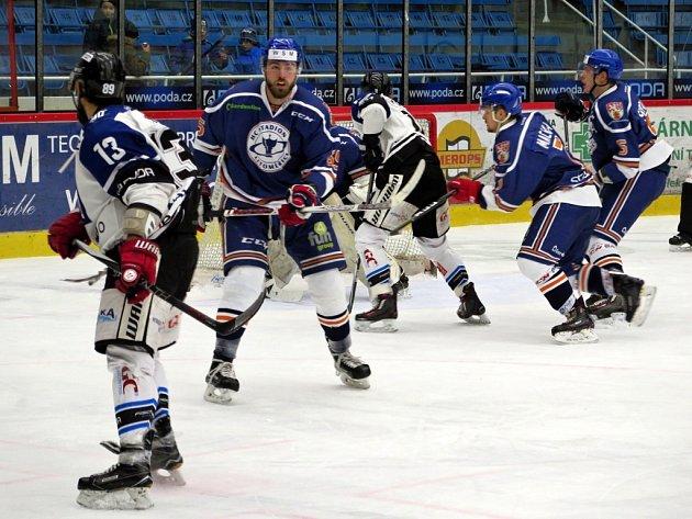 Havířov (v bílém) v důležitém souboji udolal Litoměřice.