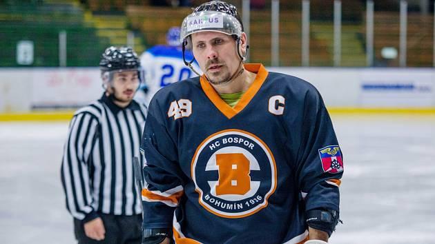 Marek Ivan jako lídr bohumínského týmu. Bospor míří na špici.