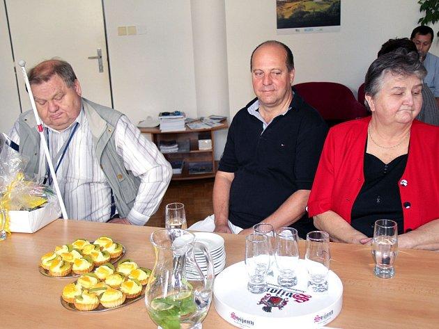 Josef Adámek (vlevo), Libor Babušek a Emma Zrubecová si mohou splnit své sny.