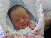 Ema Pękalová z Českého Těšína se narodila 24. dubna ve Frýdku-Místku. Měřila 49 cm a vážila 3550 g.