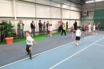 Slavnostní otevření nové tenisové haly v Havířově.
