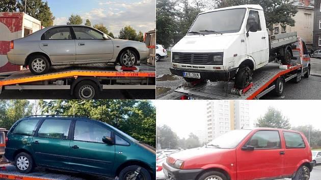 Dražba odtažených aut v Bohumíně se koná v pátek 12. února.