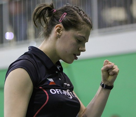 Kristína Gavnholt obhajuje prvenství mezi ženami.
