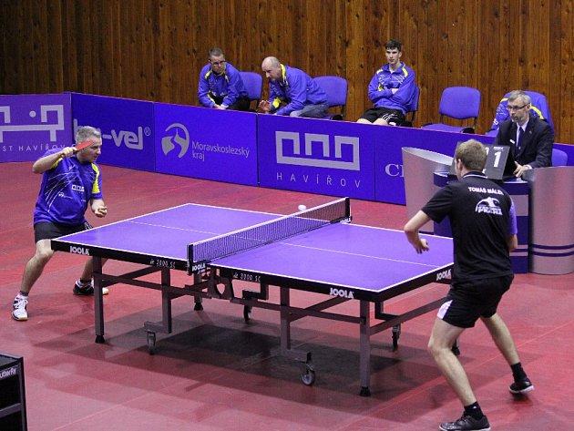 Herna stolního tenisu v Havířově uvidí ve středu kvalitní ping pong.