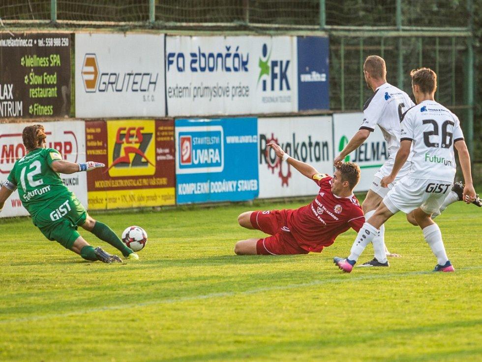 Fotbalisté Třince získali další tři body.