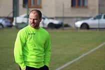 Bohumín přišel v nastavení o body, a tak trenér Martin Špička nemohl být spokojen.