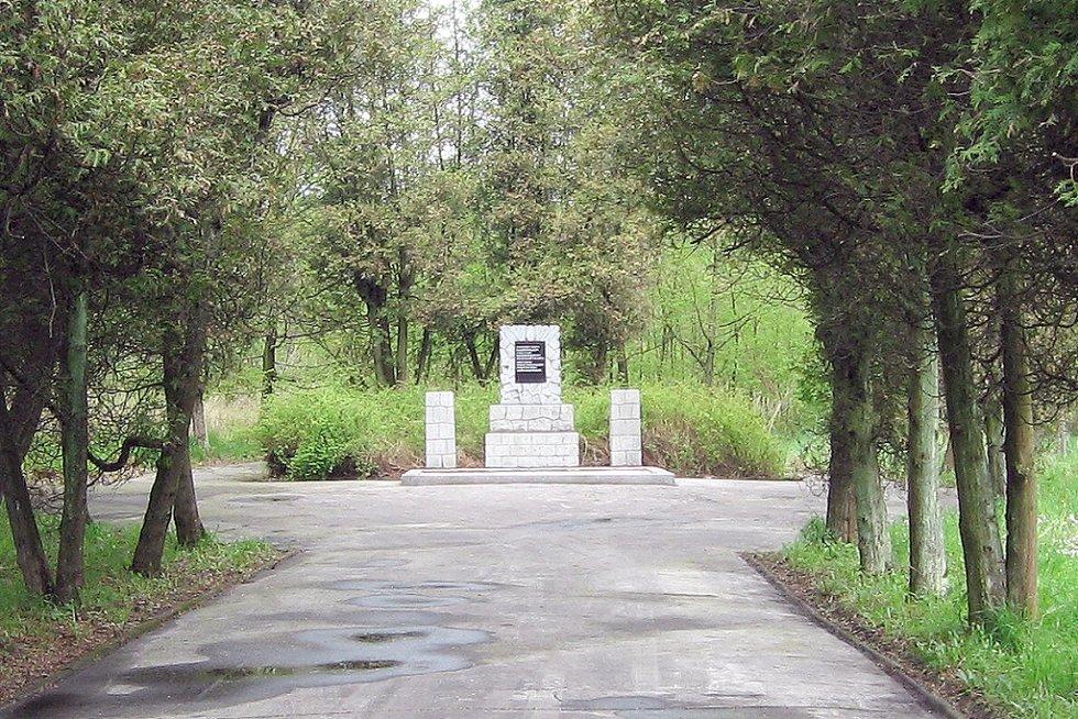 Památník rudoarmějců v Karviné-Dolech.