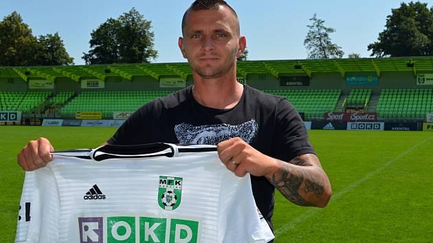 Matúš Čonka už patří Karviné. Do české ligy se vrací po pěti letech.