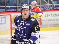 Jan Hudeček rozhodl o výhře havířovských hokejistů.