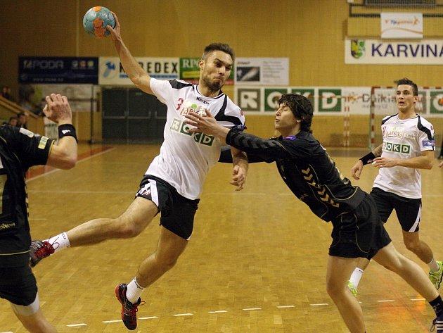 Ondřej Meca se proti Přerovu prosadil sedmi góly.