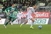 Jan Moravec (vpravo) připouští, že defenziva mužstva je strašná.