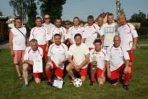 Turnaj starých gard ve Stonavě.