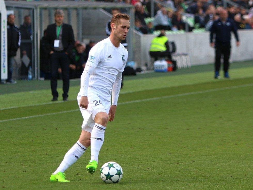 Patrik Dressler se trefil poprvé v lize.