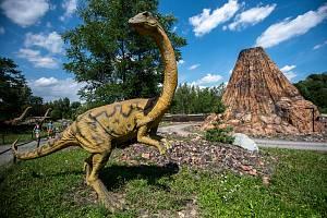 DinoPark v Doubravě na Karvinsku.