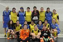 Těšínské hráčky byly pro turnaj rozděleny do dvou družstev, ale žádné neoslnilo.