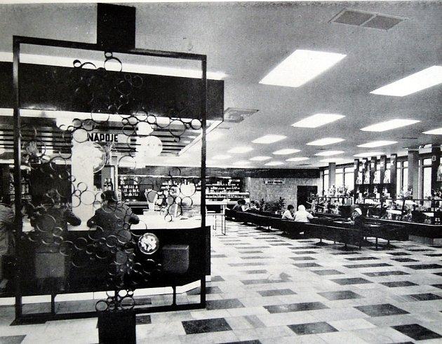 Obchodní dům Permon.