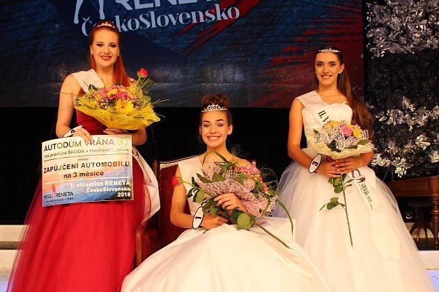 Miss Reneta 2018 v Havířově.