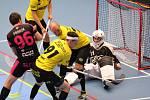 Florbalisté Havířova se proti Náchodu nadřeli na výhru.