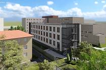 Karvinská hornická nemocnice  bude přistavovat nový pavilon.