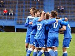 Fotbalisté Havířova se radují. Zvládli derby v Dětmarovicích a zahrají si 1. kolo domácího poháru.