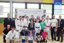 Karatisté na otevřeném mistrovství Moravy a Slezska sbírali jeden úspěch za druhým.