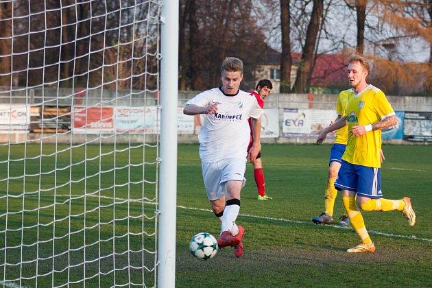 Michal Tomáš dává snadný gól.