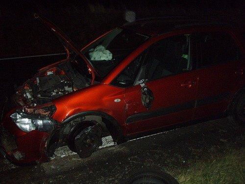 Nehoda v Petřvaldu.