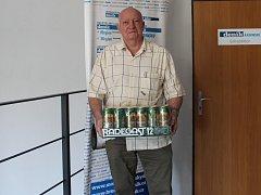 Petr Seidler z Havířova - další výherce pivního kartonu.