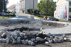 Část ulice K. Śliwky v centru Karviné bude zprovozněná, zatím ale jen provizorně.