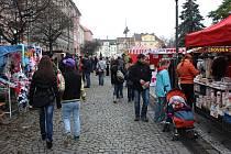 Na náměstí v Novém Bohumíně se v sobotu konaly tradiční vánoční trhy.
