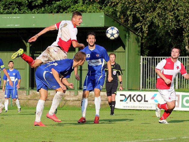 Orlovští fotbalisté se dočkali výhry.