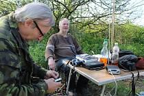 Ornitologové Kurt Rusek a Josef Chwistek.