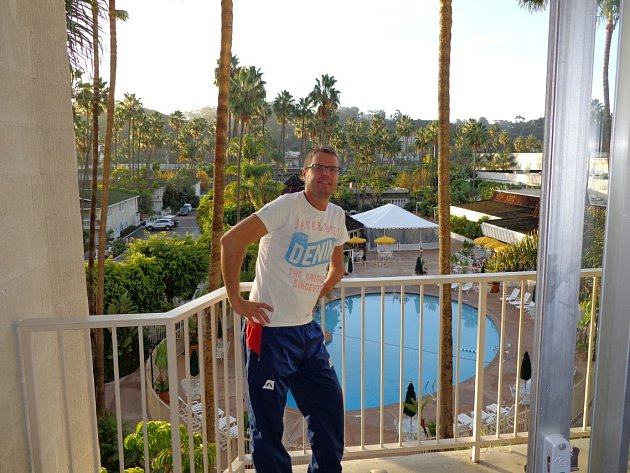 Ivan Karabec - vítěz turnaje handicapovaných v San Diegu.