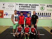 Družstvo mladších žáků Bohumína se představí ve finále ligové soutěže.