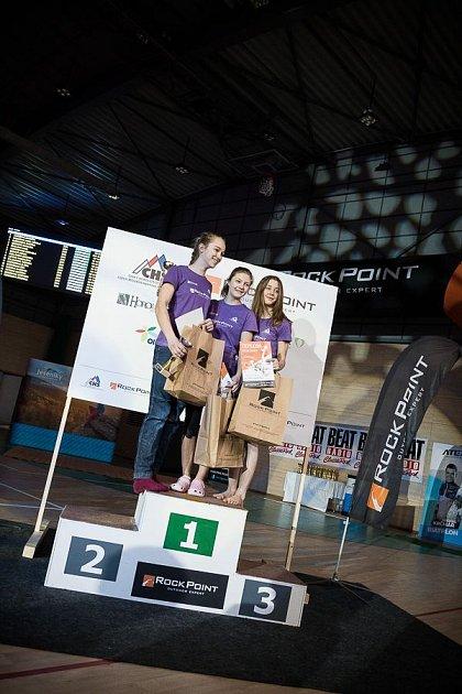 Markéta Janošová zase vyhrála mezi dívkami do 14let.