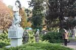 Sváteční den 28. října a jeho význam si připomněli také v Orlové.