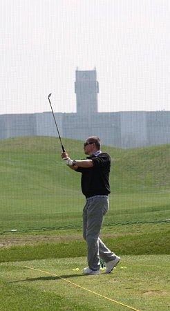 Vyzkoušet si odpaly sšachtou vzádech mohou zájemci na Golf resortu Lipiny vKarviné.