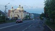 Ukrajinské město Mukačevo.