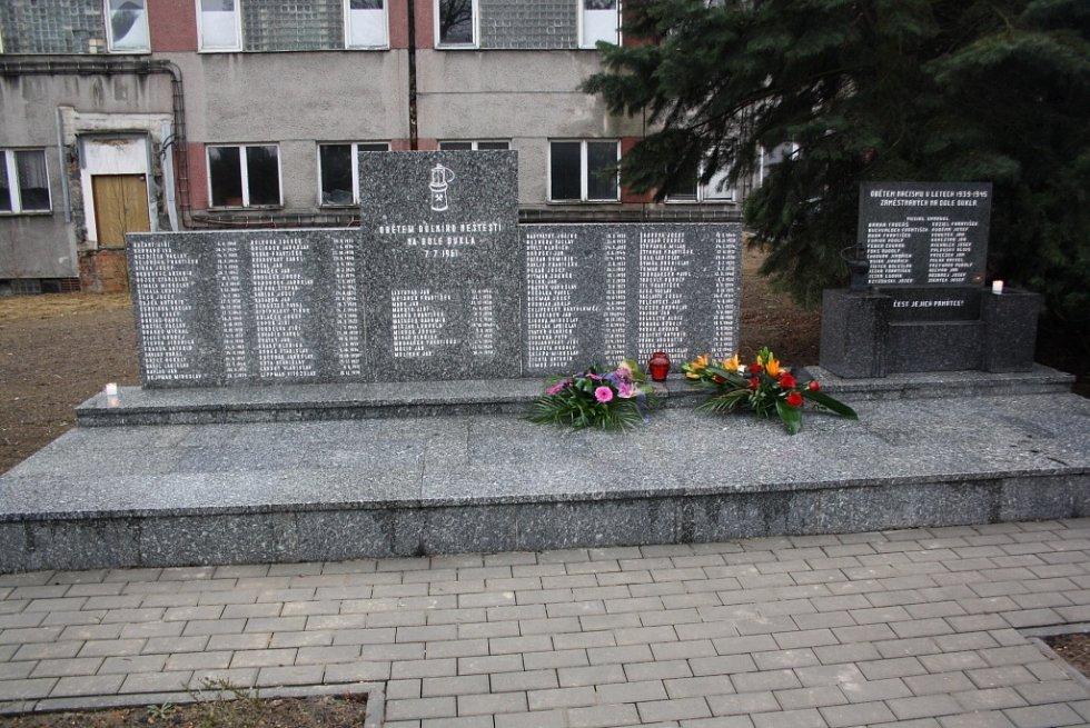 Památník 108 horníkům, kteří zahynuli při důlním neštěstí 7. července 1961 a také obětem 2. světové války.