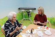 Milada Hillová oslavila 105 let. V hovoru s náměstkyní primátorky Alenou Zedníkovou.