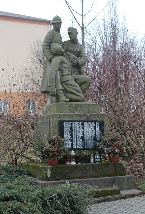 Dolní Lutyně. Památník válečným obětem