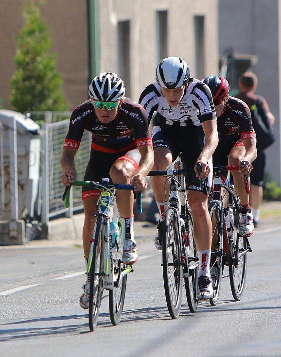 Petřvaldské závody v cyklistice.