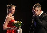 Tereza Tobolová - vítězka mezi dívkami.