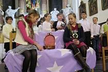 Vánoční koncert v šenovském kostele Prozřetelnosti Boží.
