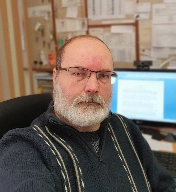 Zdeněk Feber, ředitel základní školy vAlbrechticích.