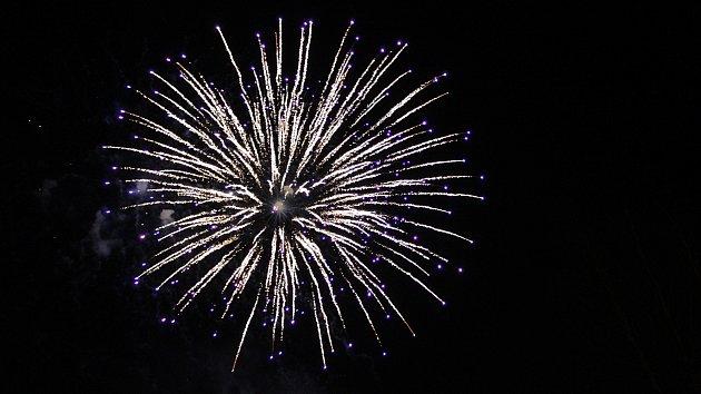 Novoroční ohňostroj 2018 v Havířově