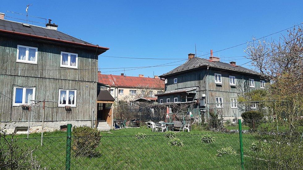 Orlová-Poruba. Sadová ulice.