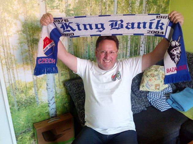 Jan Odložil fandí Baníku přes třicet let.