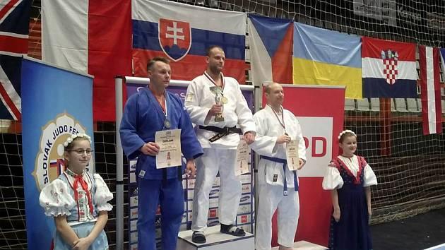 Radek Krnáč (vlevo) vybojoval v Považské Bystrici druhé místo.
