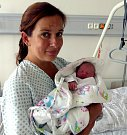 Adélka Mařecová z Petřvaldu, narozena 16. 8. Váha 2860 g, míra 47 cm. Maminka Růžena Mařecová.